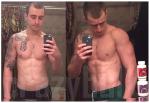 CrazyBulk TBal75 before and after